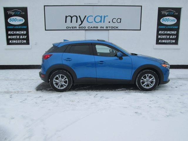 2016 Mazda CX-3 GS LEATHER, SUNROOF, BACKUP CAM, BLUETOOTH!! in