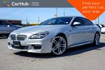 2016 BMW 6 Series 650i xDrive Navi Sunroof Bluetooth Heated Front Seats Keyless Entry 19Alloy Rims in Bolton, Ontario
