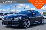 2015 BMW 6 Series 650i xDrive Navi Sunroof Bluetooth Heated Front Seats Keyless Entry 19Alloy Rims in Bolton, Ontario