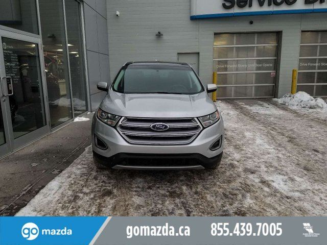 2017 FORD Edge SEL AWD LEATHER PANO ROOF NAV ACCIDENT FREE in Edmonton, Alberta