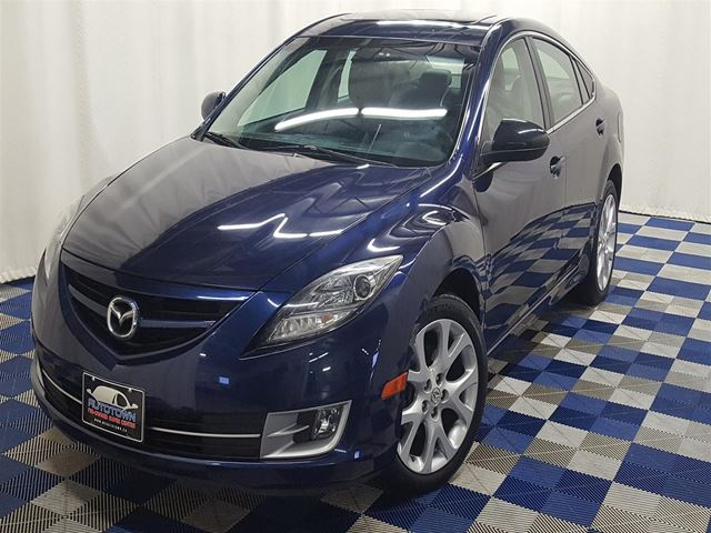 2010 MAZDA MAZDA6 GT-I4 - WOW LOW KM!! LEATHER W/SUNROOF! in Winnipeg, Manitoba