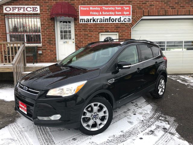 2013 Ford Escape SEL AWD Ecoboost Pano Sunroof Navigation in