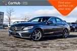 2016 Mercedes-Benz C-Class C 300 4Matic Navi Pano Sunroof Blind Spot Backup Cam Bluetooth Keyless 17Alloy Rims in Bolton, Ontario