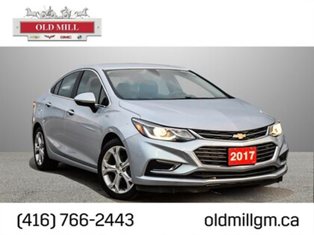 2017 CHEVROLET Cruze Accident Free, Leather Seating, Back-Up Camera, Re in Toronto, Ontario