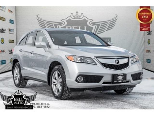 2015 ACURA RDX Tech Pkg, NAVI, BACK-UP CAM, LEATHER, MOONROOF in Toronto, Ontario