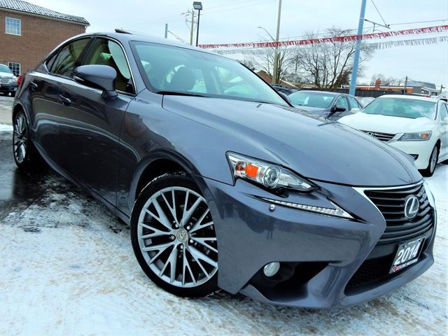 2014 LEXUS IS 250 AWD  PREMIUM  LEATHER.ROOF  BACK UP CAMERA in Kitchener, Ontario
