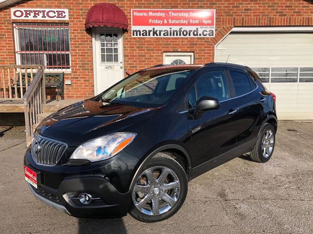 2013 Buick Encore CXL AWD Leather Sunroof Back Up Cam Bluetooth in