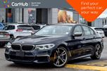 2018 BMW 5 Series M550i xDrive AWD Sunroof Nav Backup Cam Keyless_Entry 20Alloys in Thornhill, Ontario