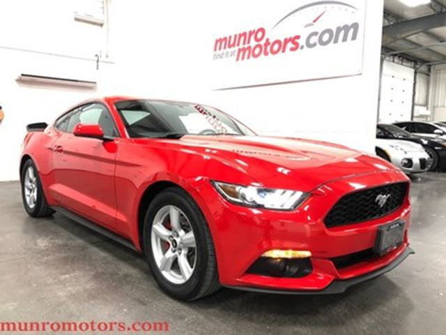 2015 FORD Mustang V6 6 speed One Owner Local Trade In in St George Brant, Ontario