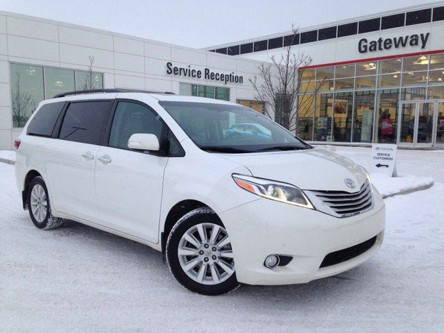 2015 TOYOTA Sienna Limited AWD 7-Pass, Leather, Nav, DVD Player, Heated Seats, Power Liftgate in Edmonton, Alberta