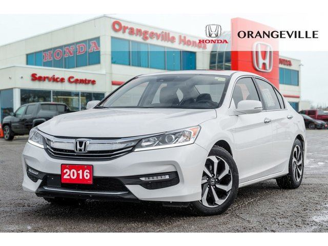 2016 Honda Accord  EX-L BACKUP CAM LANE CHANGE CAM SUNROOF LEATHER in