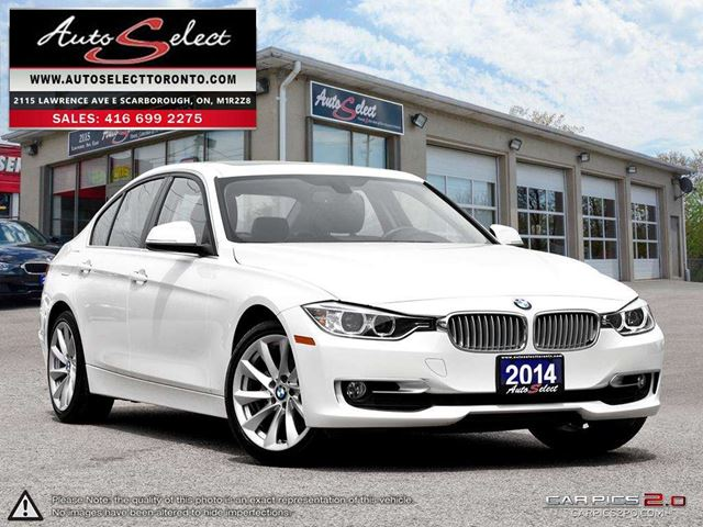 2014 BMW 3 Series xDrive AWD ONLY 80K! **NAVIGATION PKG** CLEAN CARPROOF in Scarborough, Ontario
