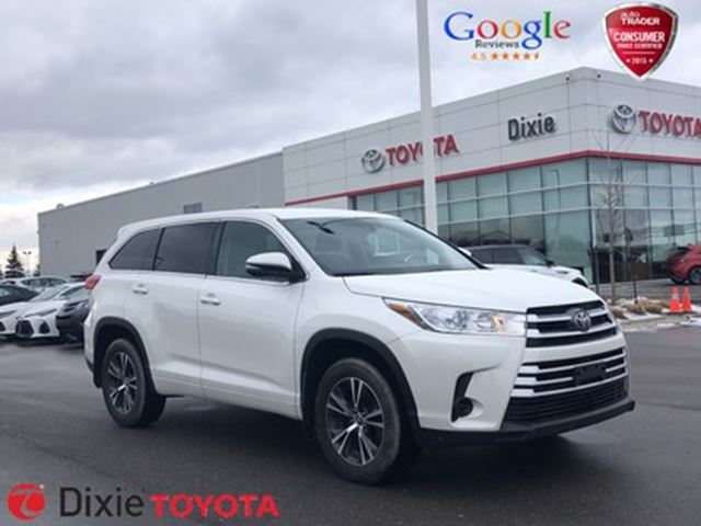 2017 TOYOTA Highlander LE in Mississauga, Ontario