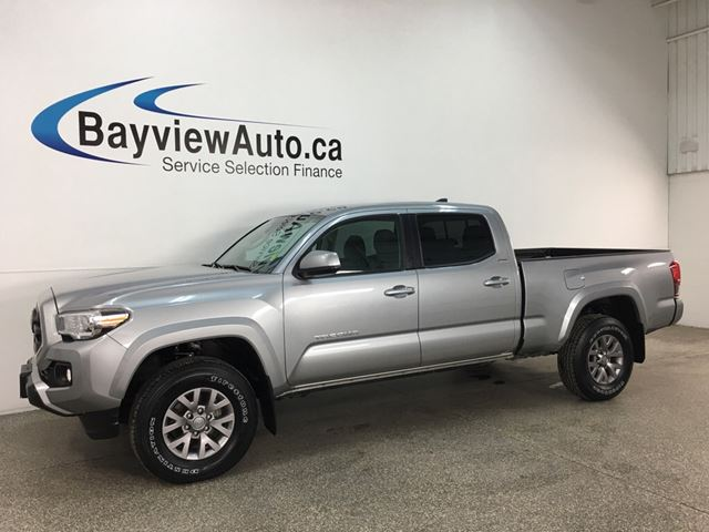 2018 TOYOTA Tacoma SR5 - REVERSE CAM! BLUETOOTH! HTD SEATS! HITCH! ALLOYS! in Belleville, Ontario