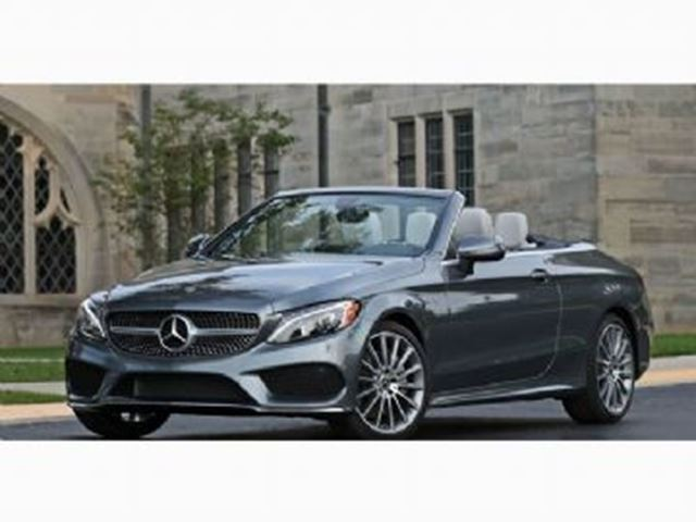 2017 MERCEDES-BENZ C-Class 300 4Matic Cabriolet Sport Package, Free Maintenance in Mississauga, Ontario