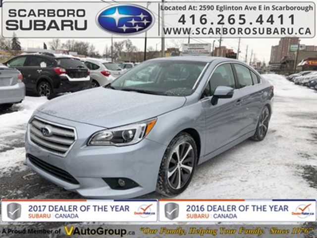 2016 SUBARU Legacy 2.5i Limited Package w/Tech Pkg in Scarborough, Ontario