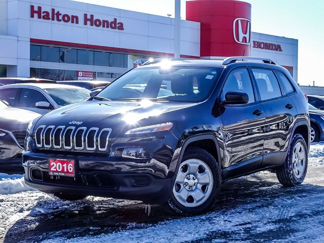 2016 JEEP Cherokee SPORT FWDNO ACCIDENTS in Burlington, Ontario