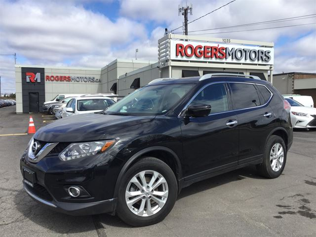 2016 NISSAN Rogue SV AWD - NAVI - PANO ROOF - 360 CAMERA  in Oakville, Ontario