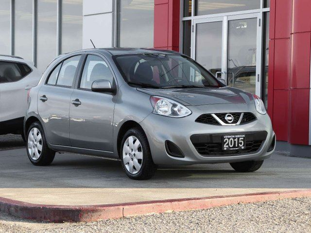 2015 NISSAN Micra SV in Vernon, British Columbia