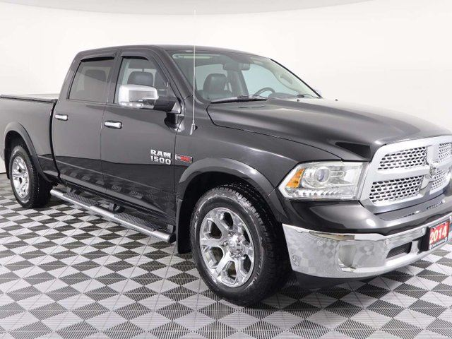 2014 DODGE RAM 1500 w/ECODIESEL, NAVIGATION, SUNROOF, HEATED AND COOLED LEATHER, LOTS MORE!!! in Huntsville, Ontario