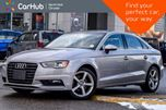 2015 Audi A3 FrontTrak 1.8T Komfort Sunroof SiriusXM Keyless_Entry Pwr.Options in Thornhill, Ontario