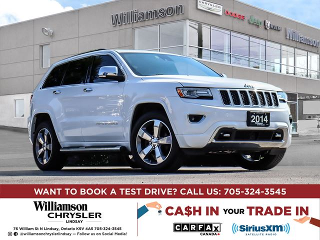 2014 JEEP Grand Cherokee Overland in Lindsay, Ontario