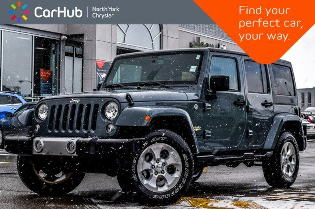 2014 JEEP Wrangler Unlimited Sahara 4x4 Connect.Pkg Pwr.Options Keyless_Entry in Thornhill, Ontario