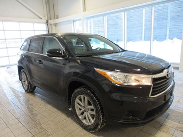 2014 TOYOTA Highlander LE NO DAMAGE CLEAN CARPROOF in Toronto, Ontario