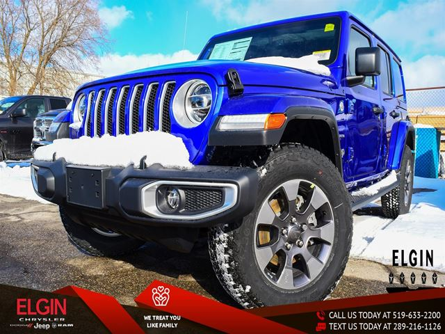 2019 JEEP Wrangler Unlimited Sahara in St Thomas, Ontario