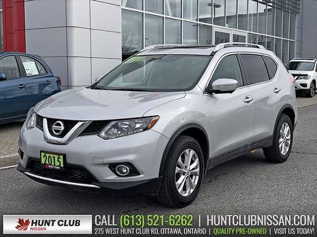2015 NISSAN Rogue SV Tech AWD   Navi, Pano Moonroof, Htd Seats in Ottawa, Ontario