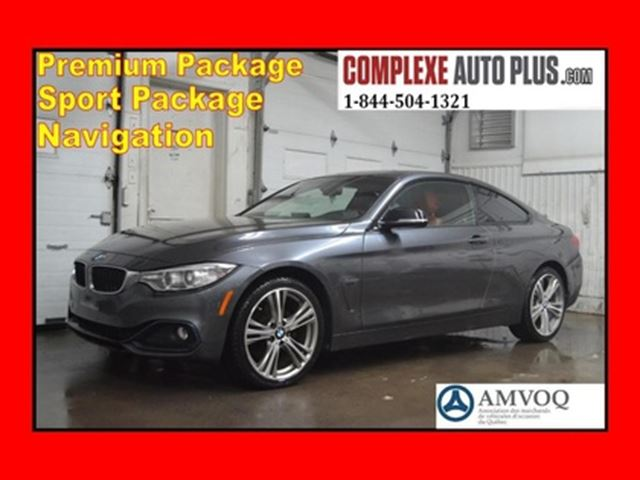 2016 BMW 4 Series 428i xDrive M Sport Package *Navi/GPS, Cuir Rouge in Saint-Jerome, Quebec