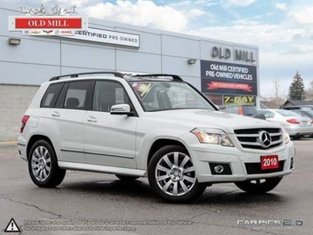 2010 MERCEDES-BENZ GLK-Class Leather, Pan Roof, Nav, front & Rear Park Assist in Toronto, Ontario