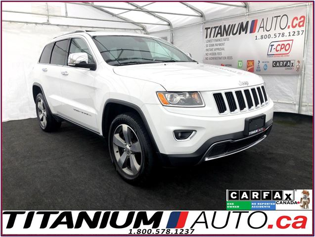 2015 JEEP Grand Cherokee Limited-4X4-Camera-Sunroof-Leather-Remote Start-XM in London, Ontario