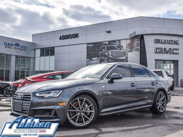 2017 AUDI A4 2.0T Technik accident free in Mississauga, Ontario