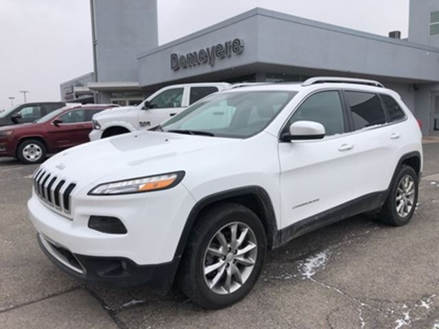 2017 Jeep Cherokee Limited in