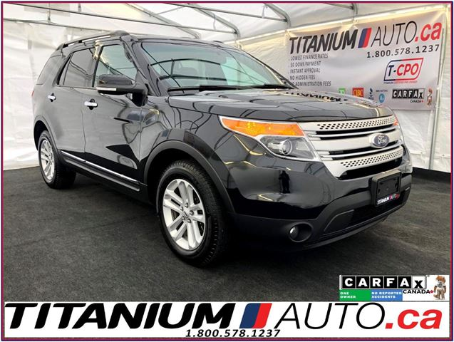 2015 FORD Explorer XLT-4WD-Camera-GPS-Pano Roof-Leather-Remote Start- in London, Ontario