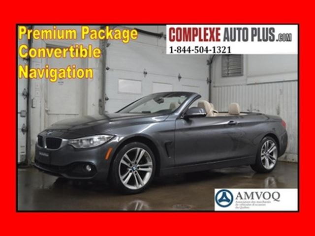 2014 BMW 4 Series 428i xDrive Convertible Premium *Navi/GPS in Saint-Jerome, Quebec