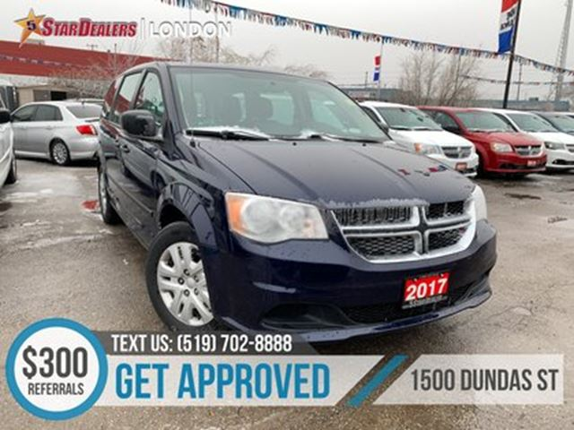 2017 DODGE Grand Caravan CVP   AUTO LOANS APPROVED in London, Ontario