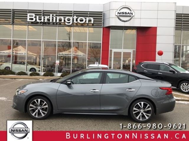 2017 NISSAN Maxima SL, ACCIDENT FREE, 1 OWNER, LOW KMS ! in Burlington, Ontario