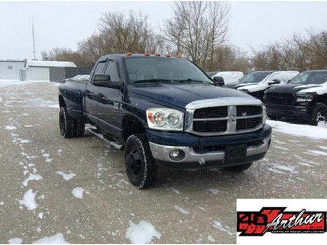 2007 Dodge RAM 3500 SXT Quad Cab 4x4 Cummins in