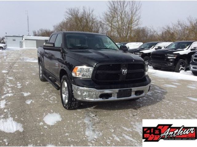 2016 Dodge RAM 1500 Outdoorsman Crew Cab 4x4 Eco Diesel in