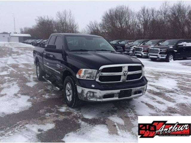 2016 Dodge RAM 1500 SLT Quad Cab 4x4 With Sunroof in