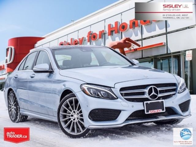 2015 MERCEDES-BENZ C-Class C400 4MATIC in Thornhill, Ontario