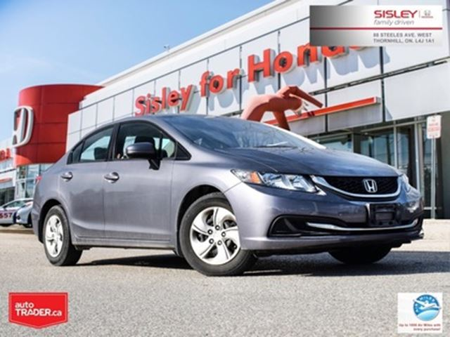 2015 HONDA Civic LX in Thornhill, Ontario