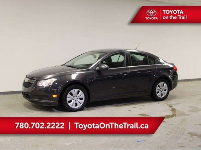 2014 CHEVROLET Cruze 1LT; CAR STARTER, AUTOMATIC, AIR CONDITIONING, BLUETOOTH, GREAT ON GAS in Edmonton, Alberta