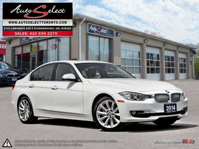 2014 BMW 3 Series xDrive AWD ONLY 70K! **NAVIGATION PKG** CLEAN CARPROOF in Scarborough, Ontario
