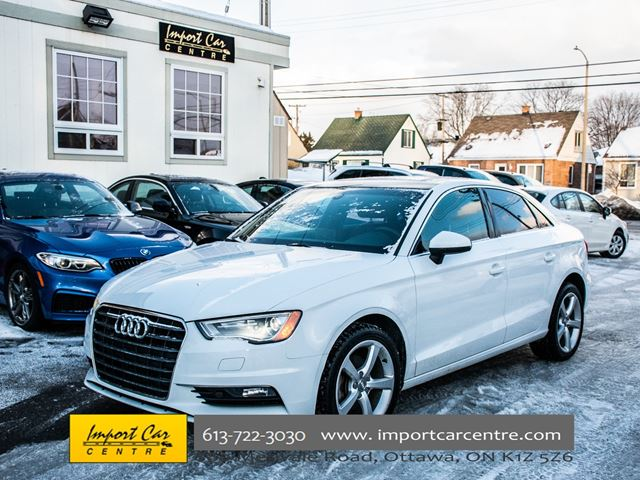 2015 AUDI A3 TDI Komfort DIESEL LEATHER PANO ROOF WOW!! in Ottawa, Ontario