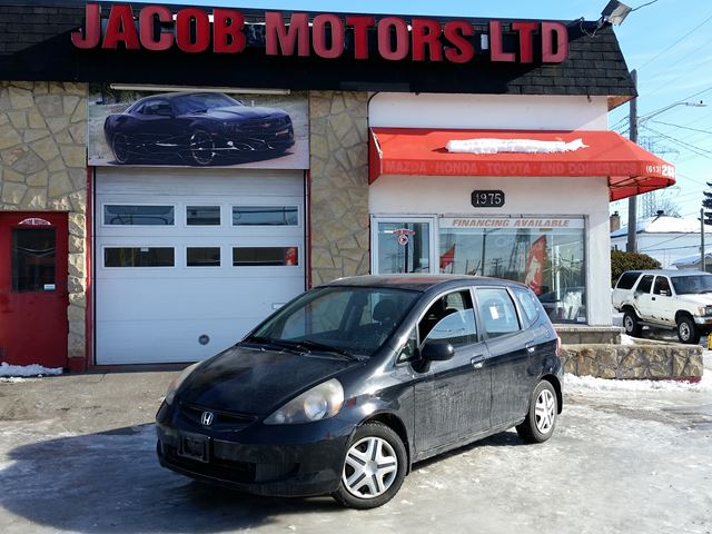 2007 HONDA Fit LX in Ottawa, Ontario