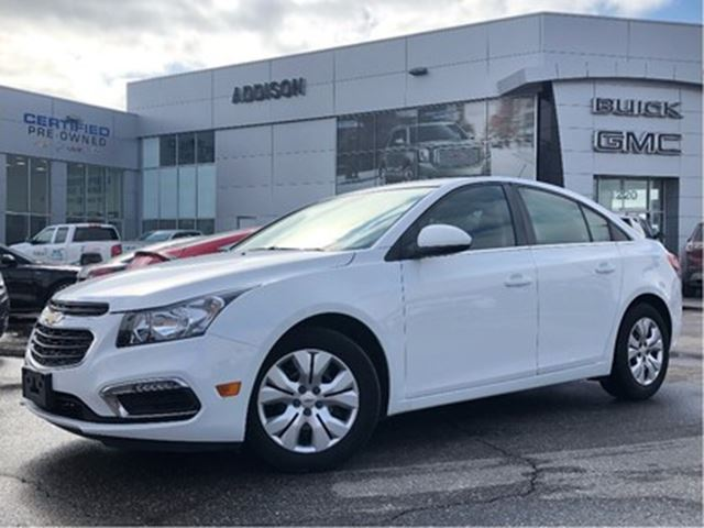 2015 CHEVROLET Cruze LT One owner, accident free in Mississauga, Ontario