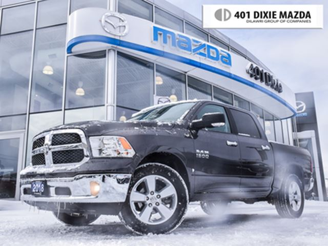 2018 DODGE RAM 1500 SLT, NO ACCIDENTS, ONE OWNER, FINANCE AVAILABLE in Mississauga, Ontario